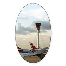 Air traffic control tower, UK Decal