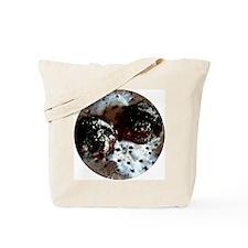 Coals and foil Tote Bag