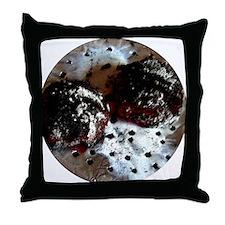Coals and foil Throw Pillow
