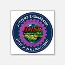 """JDISS Systems Engineering Square Sticker 3"""" x 3"""""""