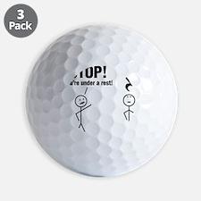 Stop! Golf Ball