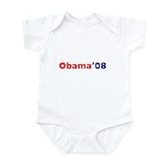 Stars for Obama Infant Bodysuit