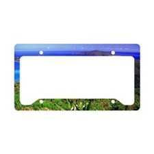 Magens Bay Beach in St. Thoma License Plate Holder