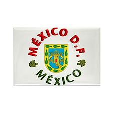 México D.F. Rectangle Magnet