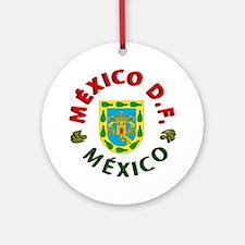 México D.F. Ornament (Round)