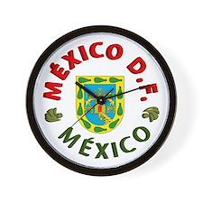 México D.F. Wall Clock