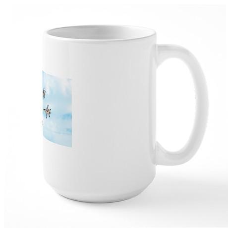 Thunderbirds in Flight Large Mug