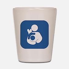 Extended breastfeeding Shot Glass