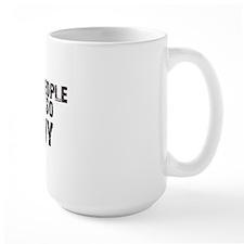 PEOPLE SO TINY Mug
