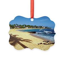 Poipu Beach on Kauai, Hawaii, USA Ornament