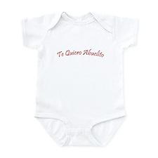 Te Quiero Abuelito Infant Bodysuit