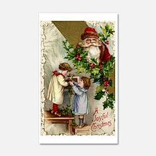 Vintage Christmas Santa Claus Wall Decal