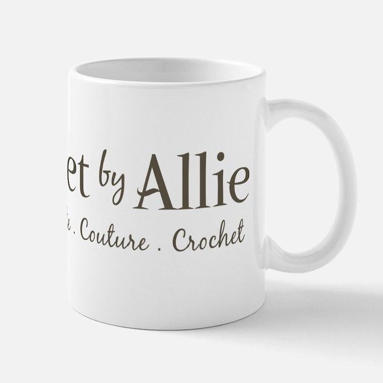 Crochet By Allie New Logo Small Small Mug