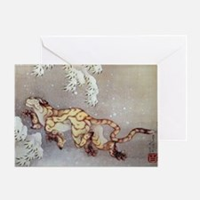 Hokusai Greeting Card