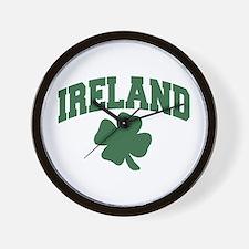 Ireland Shamrock Wall Clock