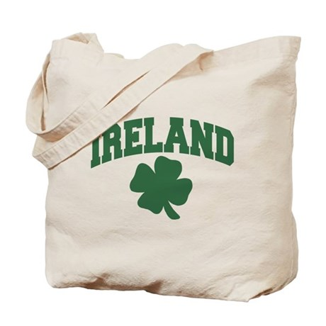Ireland Shamrock Tote Bag