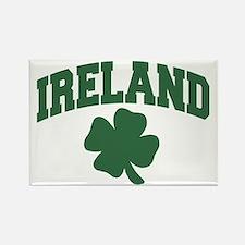 Ireland Shamrock Rectangle Magnet