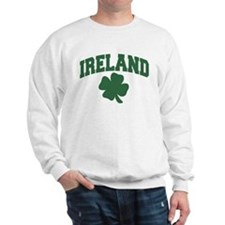 Ireland Shamrock Sweatshirt