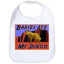babies ate my dingo Bib