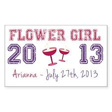 Flower Girl-Arianna Decal