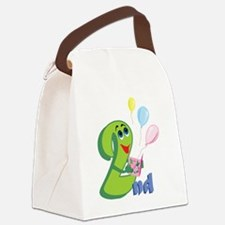 BirAnnNumbersA07 Canvas Lunch Bag