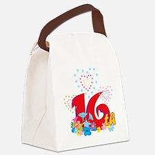 BirAnnNumbersA26 Canvas Lunch Bag