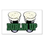 Dublin Up Rectangle Sticker