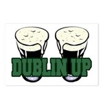 Dublin Up Postcards (Package of 8)