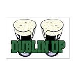 Dublin Up Mini Poster Print