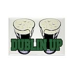 Dublin Up Rectangle Magnet