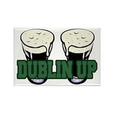 Dublin Up Rectangle Magnet