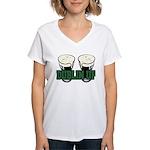 Dublin Up Women's V-Neck T-Shirt