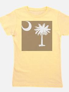 South Carolina Palmetto State Flag Girl's Tee