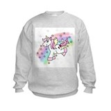 Girls unicorn Crew Neck