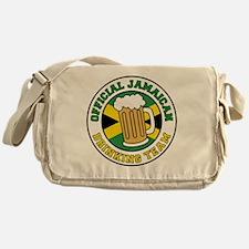 Official Jamaican Drinking Team Messenger Bag
