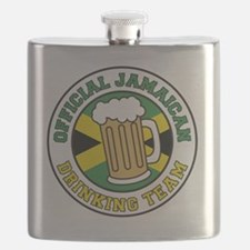 Official Jamaican Drinking Team Flask