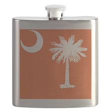South Carolina Palm... Flask