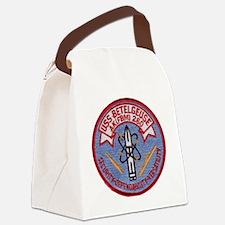 uss betelgeuse patch transparent Canvas Lunch Bag