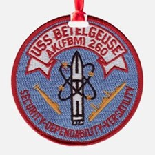 uss betelgeuse patch transparent Ornament