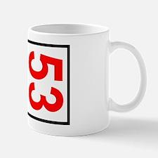 53 Autocross Number Plates Mug