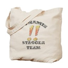 Dynamis Stagger Team Faded Tote Bag