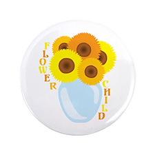 """Flower Child 3.5"""" Button"""