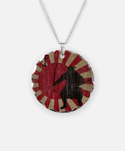 Vintage Samurai Necklace