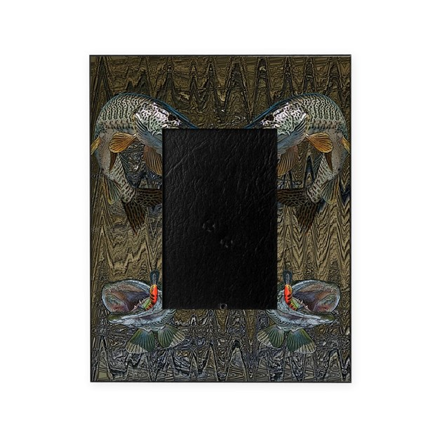 Musky fishing picture frame by admin cp7673574 for Fishing picture frame