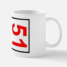 51 Autocross Number Plates Mug