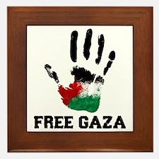 Free Gaza Framed Tile