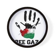 Free Gaza Wall Clock