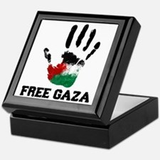 Free Gaza Keepsake Box