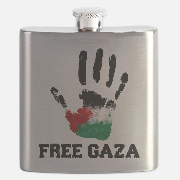 Free Gaza Flask