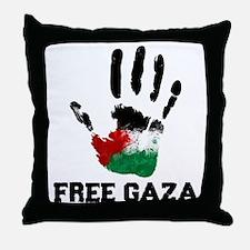 Free Gaza Throw Pillow